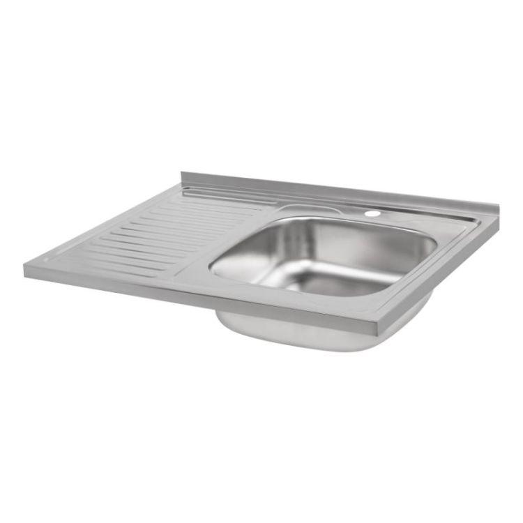 Кухонна мийка Lidz 6080-R Decor 0,6 мм (LIDZ6080RDEC06) - 4