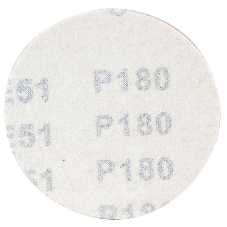 Шлифовальный круг без отверстий Ø75мм P180 (10шт) Sigma (9120691) - 2
