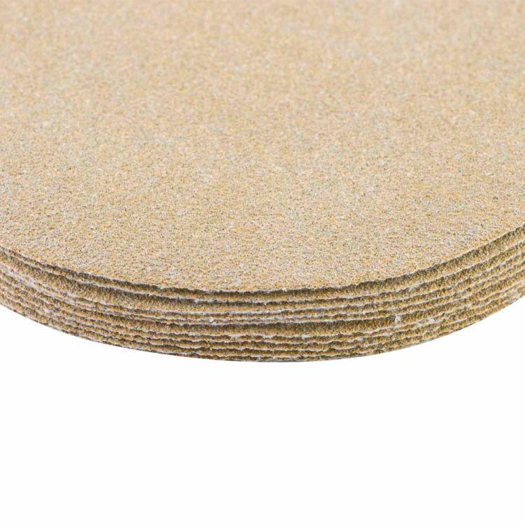Шлифовальный круг без отверстий Ø125мм Gold P80 (10шт) Sigma (9120051) - 4