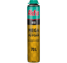 Профессиональная монтажная пистолетная пена Akfix 1020 гр 872 Mega 70 L