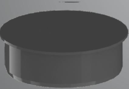 Заглушка каналізаційна 75 ASG - 1