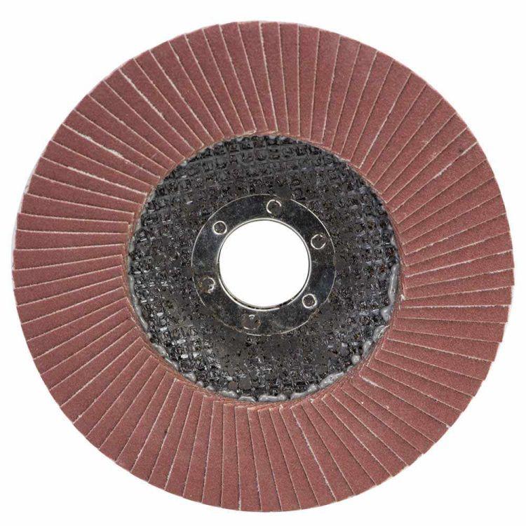 Круг лепестковый торцевой Т27 (прямой) Ø125мм P220 Sigma (9172171) - 1
