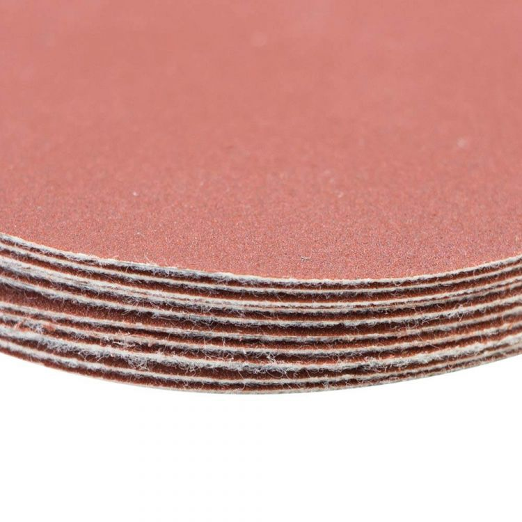 Шлифовальный круг без отверстий Ø75мм P240 (10шт) Sigma (9120711) - 4