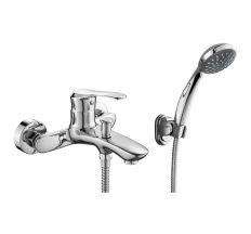 JET смеситель для ванны однорычажный, хром, 35 мм