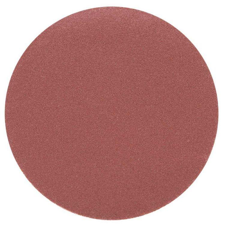 Шлифовальный круг без отверстий Ø125мм P180 (10шт) Sigma (9121141) - 1