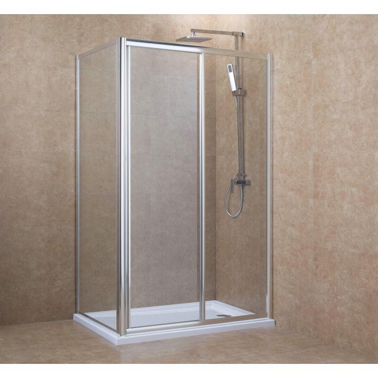Бічна стінка 90*195 см, для комплектації з дверима 599-153 (h) - 2