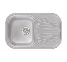 Кухонна мийка Qtap 7448 dekor 0,8 мм (QT7448MICDEC08)