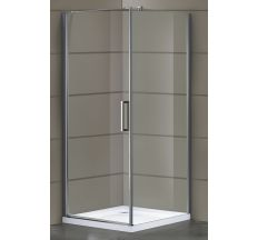 RUDAS душова кабіна 90*90*200 см, квадратна, орні, ліва, скло (скло+двері)