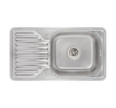 Кухонна мийка Lidz 7642 dekor 0,8 мм (LIDZ764208MICDEC)