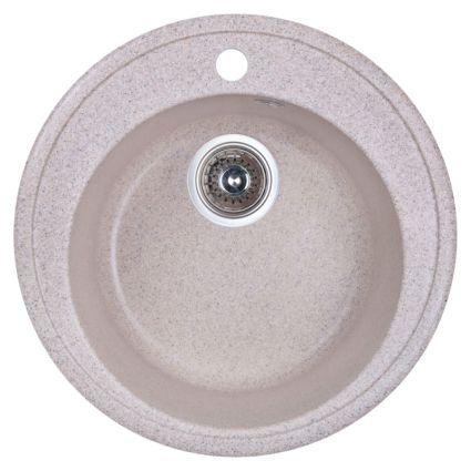 Мийка Fosto 510/510*180 колір SGA-300 пісок (без сифона) - 1