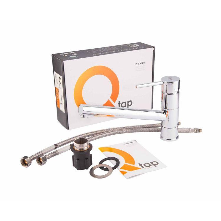 Змішувач для кухні Q-tap Spring 002 CRM - 4