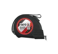 Рулетка Yato с нейлоновым покрытием и магнитным наконечником 8мх25мм YT-7112