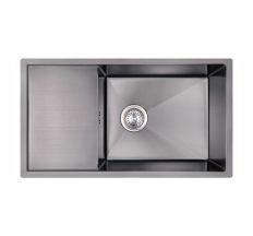Кухонна мийка Imperial D7844BL PVD black Handmade 3.0/1.2 mm