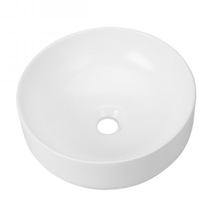 VOLLE умивальник 35,5*35,5*12,5 см, накладної, круглий, матовий - 4