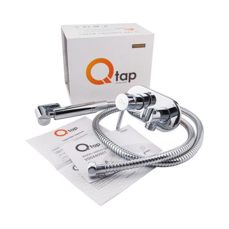 Комплект Qtap інсталяція Nest QTNESTM425M08CRM + унітаз з сидінням Jay QT07335176W + набір для гігієнічного душу зі змішувачем Inspai-Varius QTINSVARCRMV00440501 - 11