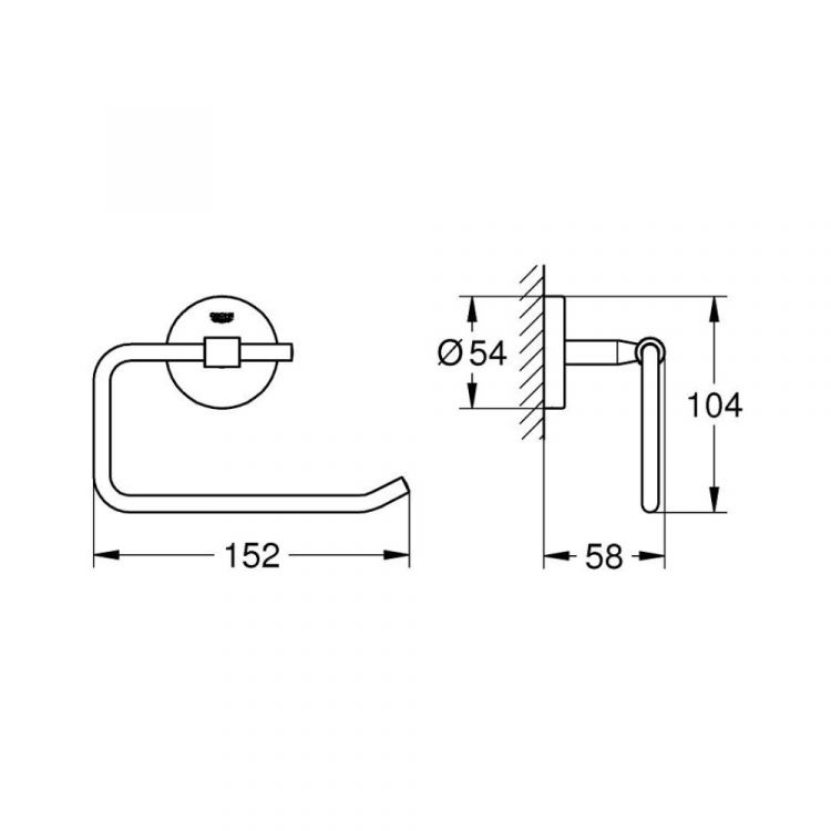 Essentials Держатель туалетной бумаги - 2