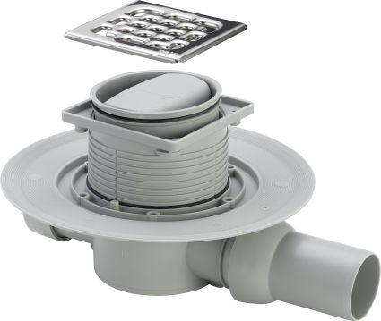 Трап Advantix для ванной, сухой затвор, горизонтальный D50 (583217) - 1