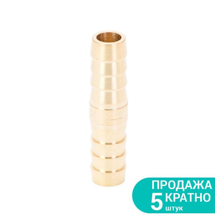 Соединение для шланга 10мм (латунь) Sigma (7023841) - 1