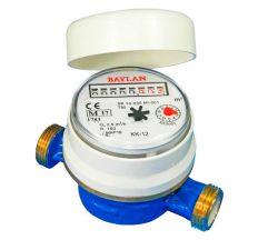Счетчик воды Baylan КК-12 1/2 МИН R160 (мокрохід) класс С б/штуц д/помещения (КР0010075 код шт)