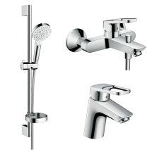 Logis Loop Набір змішувачів для ванни, умивальник 70 (71150000+71244000+26553400)