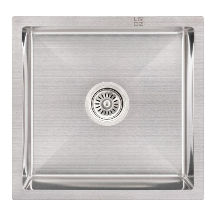 Кухонна мийка Lidz H4745 Brush 3.0/1.0 мм (LIDZH4745BRU3010) - 1