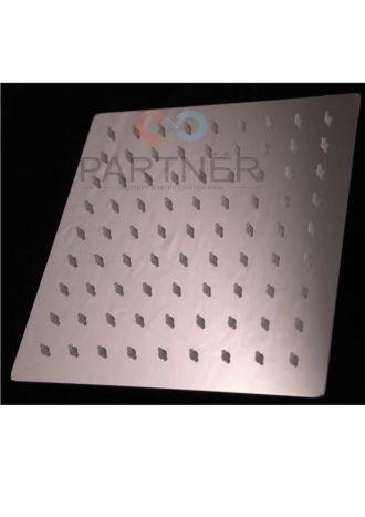 Лійка стельво квадратна силікон Ultra Slim 150 мм 0000000809 - 1