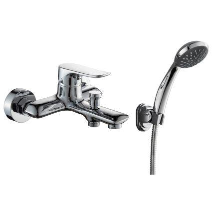 VELUM змішувач для ванни одноважільний, хром 35 мм - 1