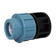 Заглушка затискна SANTAN 25 мм