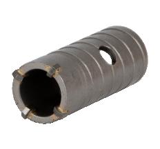 Коронка по бетону Ø30×70мм 4 зубца (тубус) GRAD (1514015)