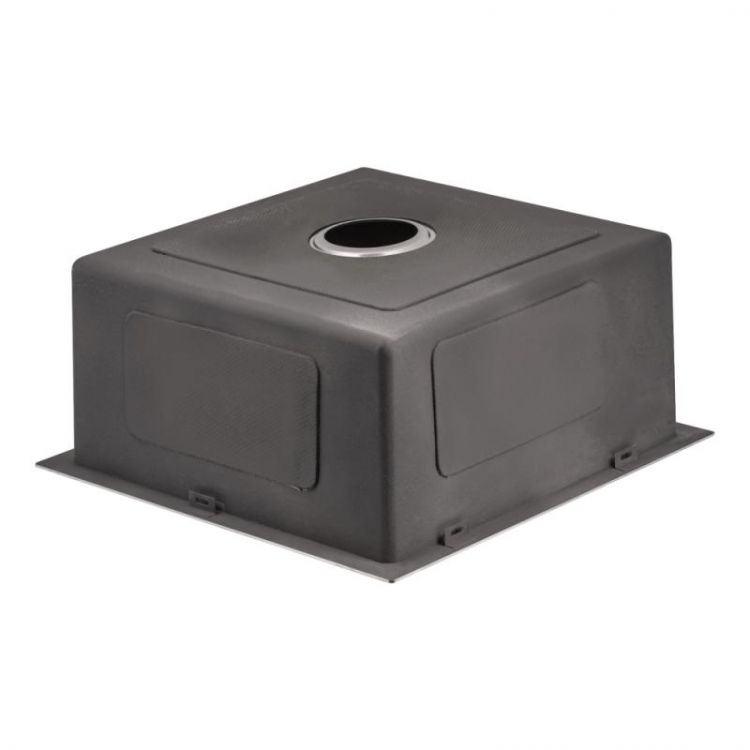 Кухонна мийка Lidz H4745 Brush 3.0/1.0 мм (LIDZH4745BRU3010) - 5