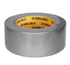 Армована стрічка (сіра) 50мм×25м Sigma (8419051)