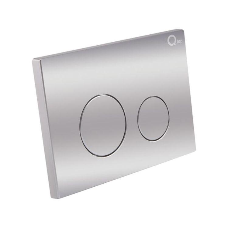 Набір інсталяція 4 в 1 Qtap Nest ST з круглої панеллю змиву QT0133M425M11112CRM - 5