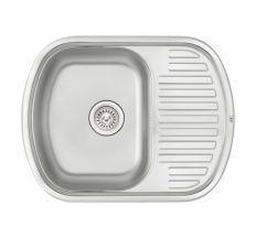 Кухонна мийка Qtap 6349 Satin 0,8 мм (QT6349SAT08)
