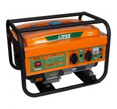 Генератор бензиновий 2.5/2.8 кВт 4-х тактний, ручний запуск GRAD (5710915)