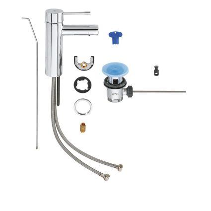 Essence New Змішувач для раковини, одноважільний GROHE 32898001 - 3