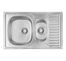 Кухонна мийка ULA 7301 Satin з доп чашею (ULA7301SAT08)