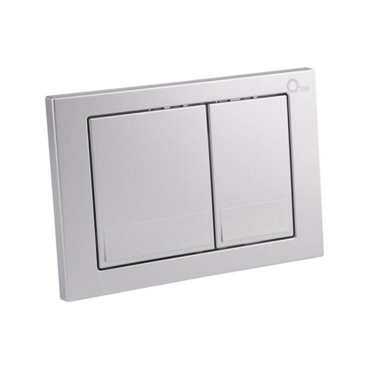 Набір інсталяція 4 в 1 Qtap Nest ST з квадратної панеллю змиву QT0133M425M06029SAT - 5
