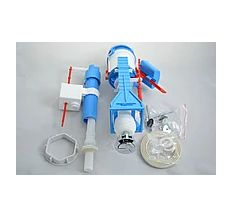 Набір арматура випуск нижній пластик 1/2 з 2 кнопкою NIKIPLAST 02109