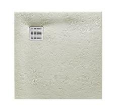 TERRAN піддон 90*90см, квадратний, з мистецтв. каменю, ультраплоскій, колір цемент