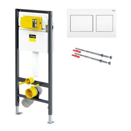 Комплект інсталяції для унітаза Prevista Dry 771973 (3 в 1), клавіша 773250 - 1