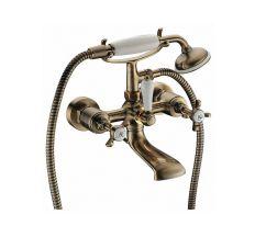 CUTHNA antiqua двухвентильный смеситель для ванны, бронза