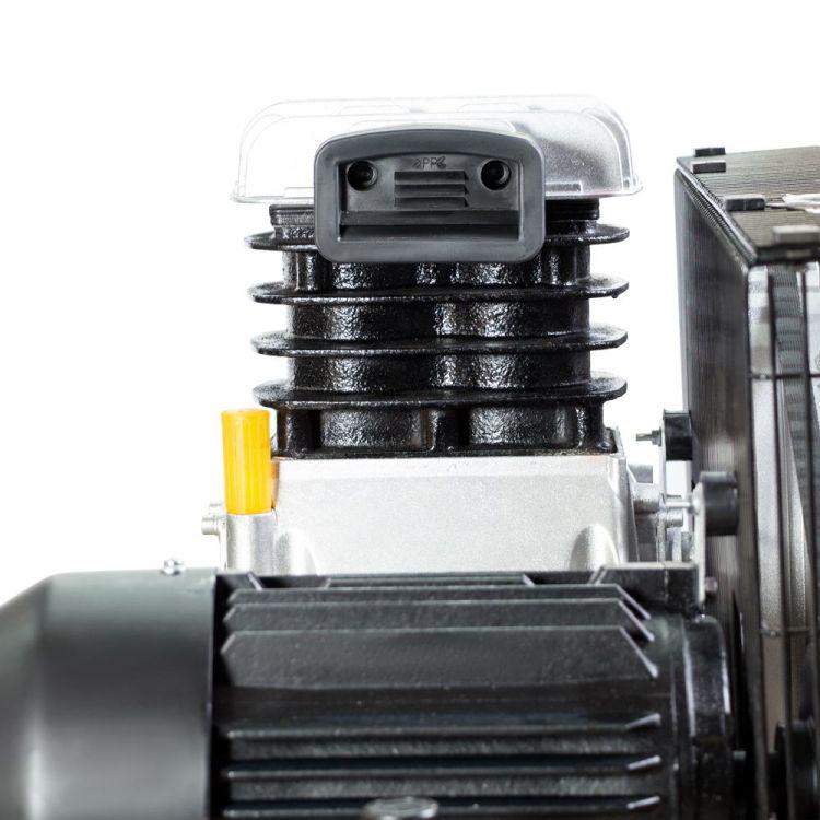 Компрессор ременной двухцилиндровый 380В 2.2кВт 508л/мин 10бар 100л Sigma Refine (7044211) - 6