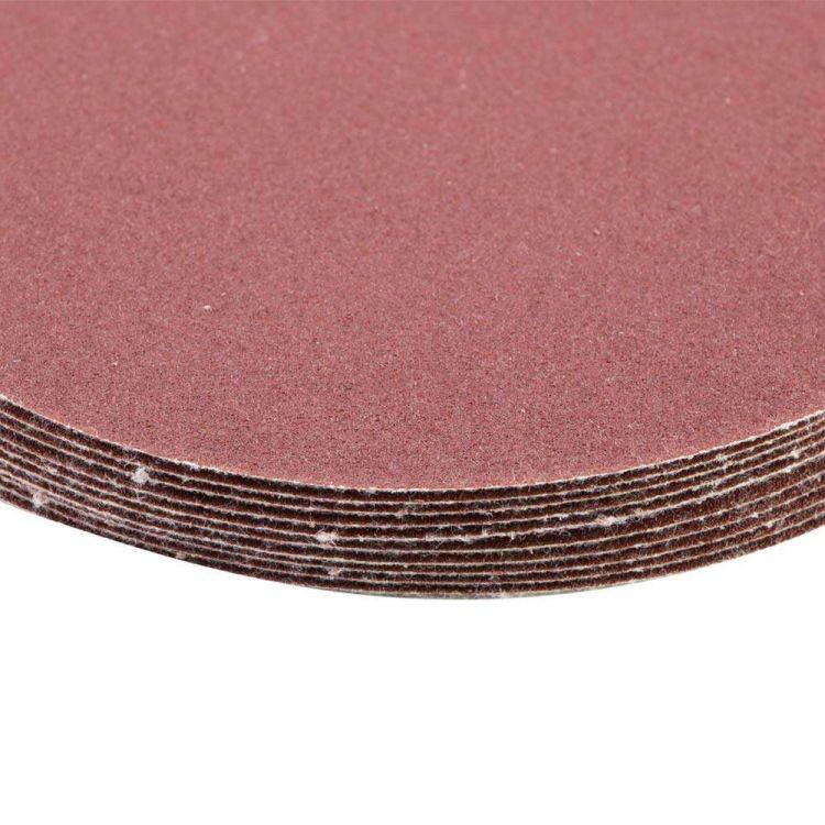 Шлифовальный круг без отверстий Ø125мм P180 (10шт) Sigma (9121141) - 4