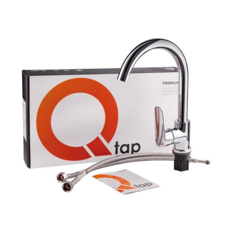 Змішувач для кухні Qtap Linea CRM 007F - 4