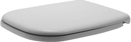 D-CODE сидіння для унітазу, петлі пластик, з автоматич. закриванням, кол. білий - 1