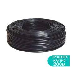 Кабель електричний для свердловинних насосів H07RN -F круглий (3×1.0мм2) 200м Dongyin (779943)