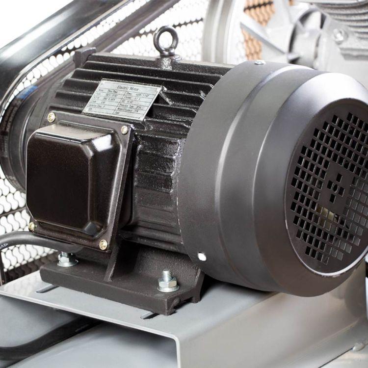 Компрессор ременной двухцилиндровый 380В 4кВт 700л/мин 10бар 150л Sigma (7044631) - 7
