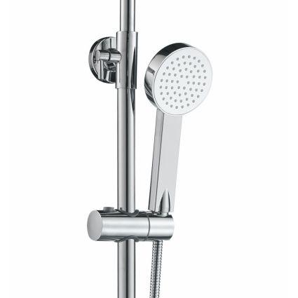 VELUM система душова (змішувач для ванни, верхній та ручний душ) - 5